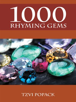 cover image of 1000 Rhyming Gems