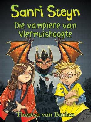 cover image of Vampiere van Vlermuishoogte