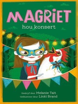cover image of Magriet hou konsert
