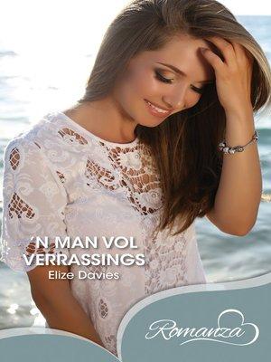 cover image of n Man vol verrassings