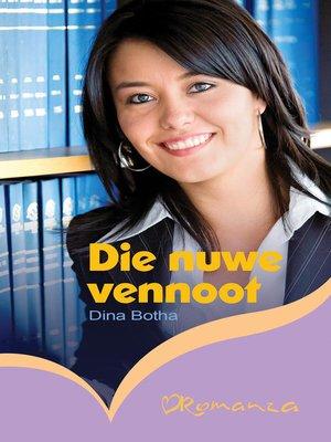 cover image of Die nuwe vennoot