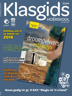 cover image of Klasgids Oktober 2015 Hoërskool