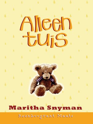cover image of Alleen tuis