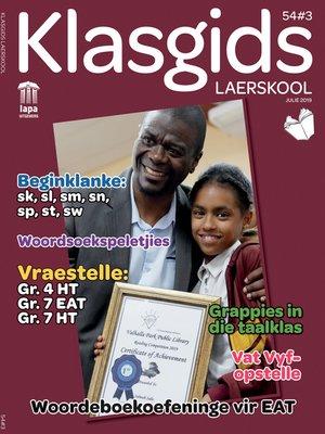 cover image of Klasgids Julie 2019 Laerskool