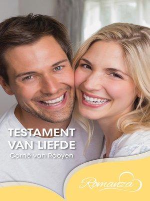 cover image of Testament van liefde