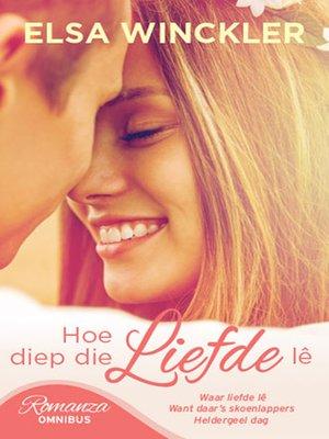 cover image of hoe diep die liefde lê