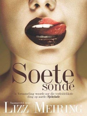 cover image of Soete sonde