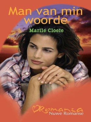 cover image of Man van min woorde
