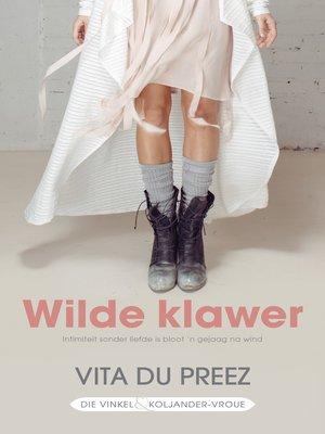 cover image of wilde klawer