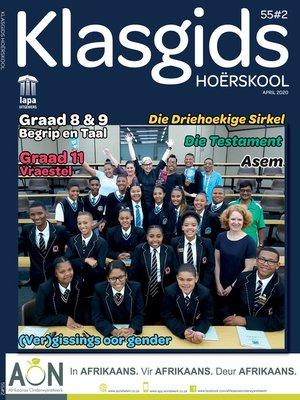 cover image of Klasgids April 2020 Hoërskool