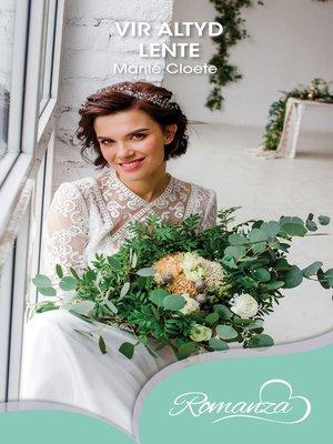 cover image of Vir altyd lente