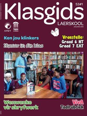 cover image of Klasgids Januarie 2018 Laerskool