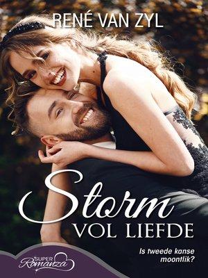 cover image of Storm vol liefde (SuperRomanza)