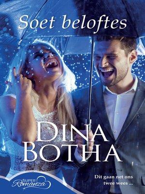 cover image of Soet beloftes