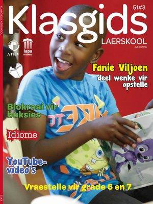 cover image of Klasgids Julie 2016 Laerskool