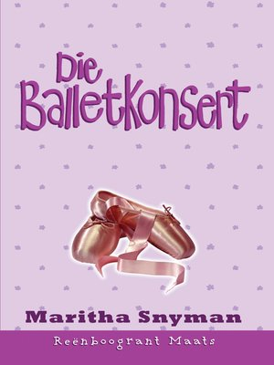 cover image of Die balletkonsert