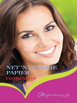 cover image of Net 'n stukkie papier