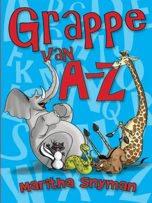 cover image of Grappe van A-Z