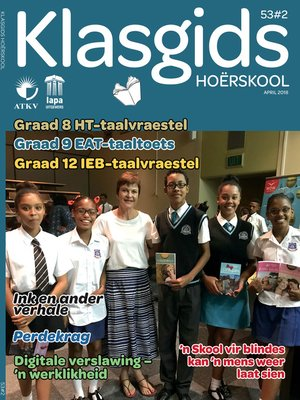 cover image of Klasgids April 2018 Hoërskool