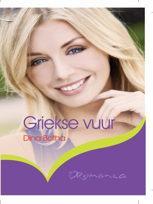 cover image of Griekse vuur