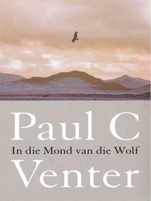 cover image of In die mond van die wolf