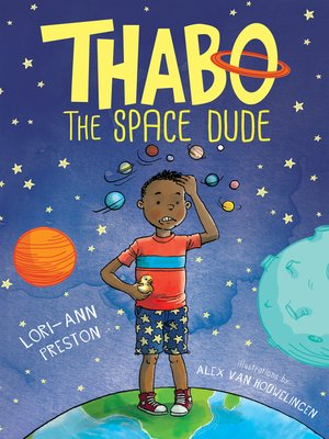 cover image of Thabo, the space dude