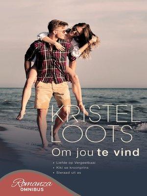 cover image of Om jou te vind