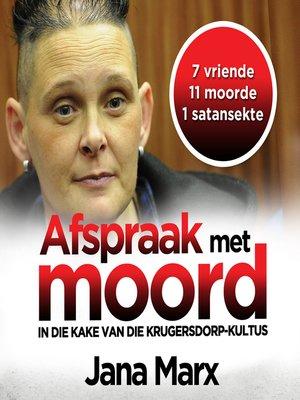 cover image of Afspraak met moord