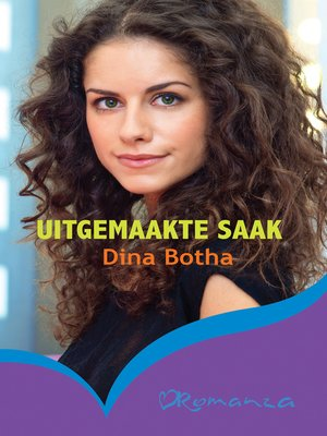 cover image of Uitgemaakte saak