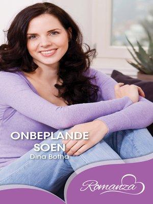 cover image of Onbeplande soen