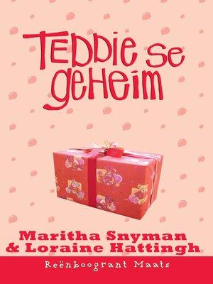 cover image of Teddie se geheim