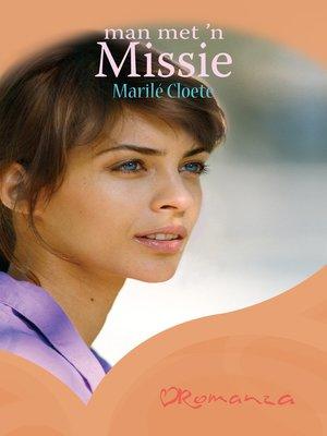 cover image of Man met 'n missie