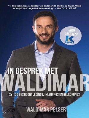 cover image of In gesprek met Waldimar