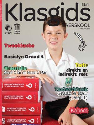 cover image of Klasgids Januarie 2016 Laerskool