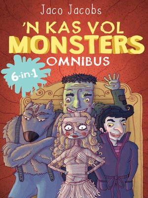 cover image of Kas vol monsters Omnibus
