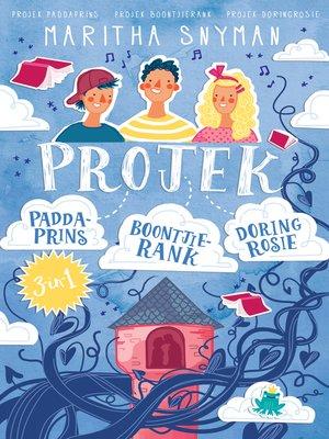 cover image of Die projek-reeks