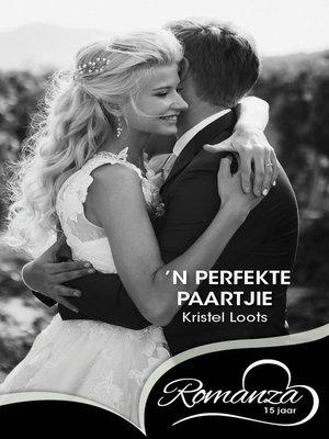 cover image of n Perfekte paartjie