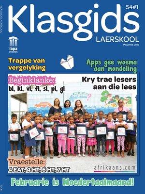 cover image of Klasgids Januarie 2019 Laerskool