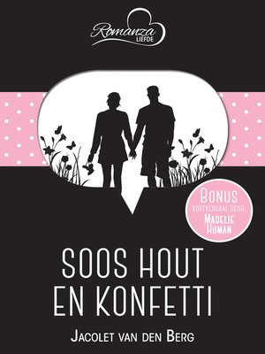 cover image of Soos hout en konfetti & Held in 'n aandpak