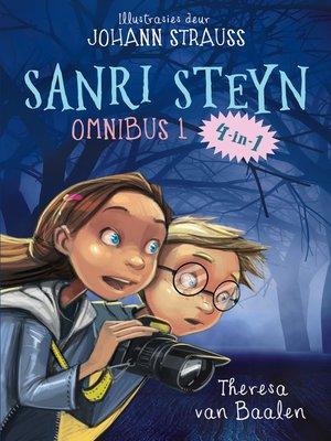 cover image of Sanri Steyn Omnibus 1: dr. Zombos; Aliens & Superkat