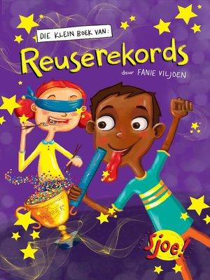 cover image of Die klein boek van reuserekords