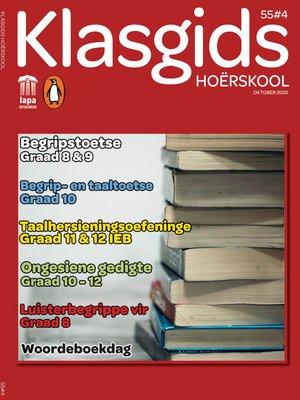 cover image of Klasgids Oktober 2020 Hoërskool