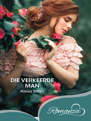 cover image of Die verkeerde man