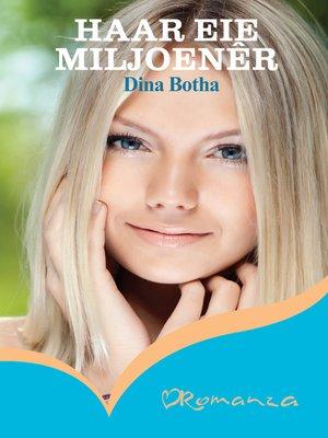 cover image of Haar eie miljoenêr