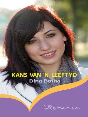 cover image of Kans van 'n leeftyd
