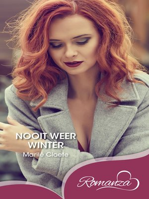 cover image of Nooit weer winter