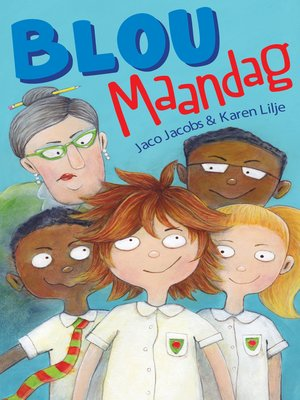cover image of Blou Maandag