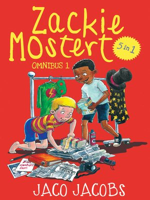 cover image of Zackie Mostert Omnibus 1