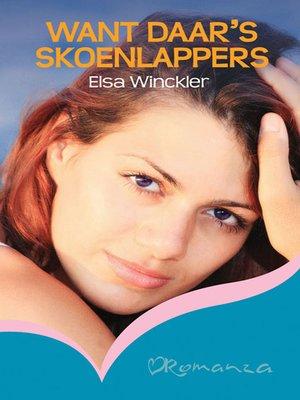 cover image of Want daar's skoenlappers