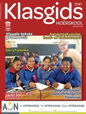cover image of Klasgids Januarie 2020 Hoërskool
